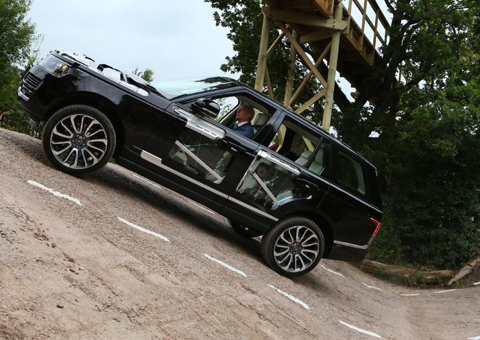 Range Rover 2013. Presentación (I)