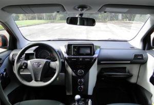 Toyota iQ 1.0 VVT-i. Salpicadero