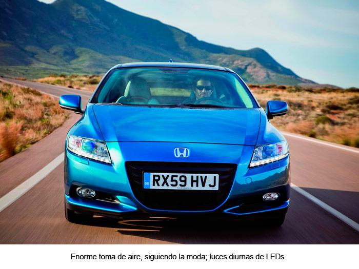 Prueba interesante (27): Honda CR-Z híbrido