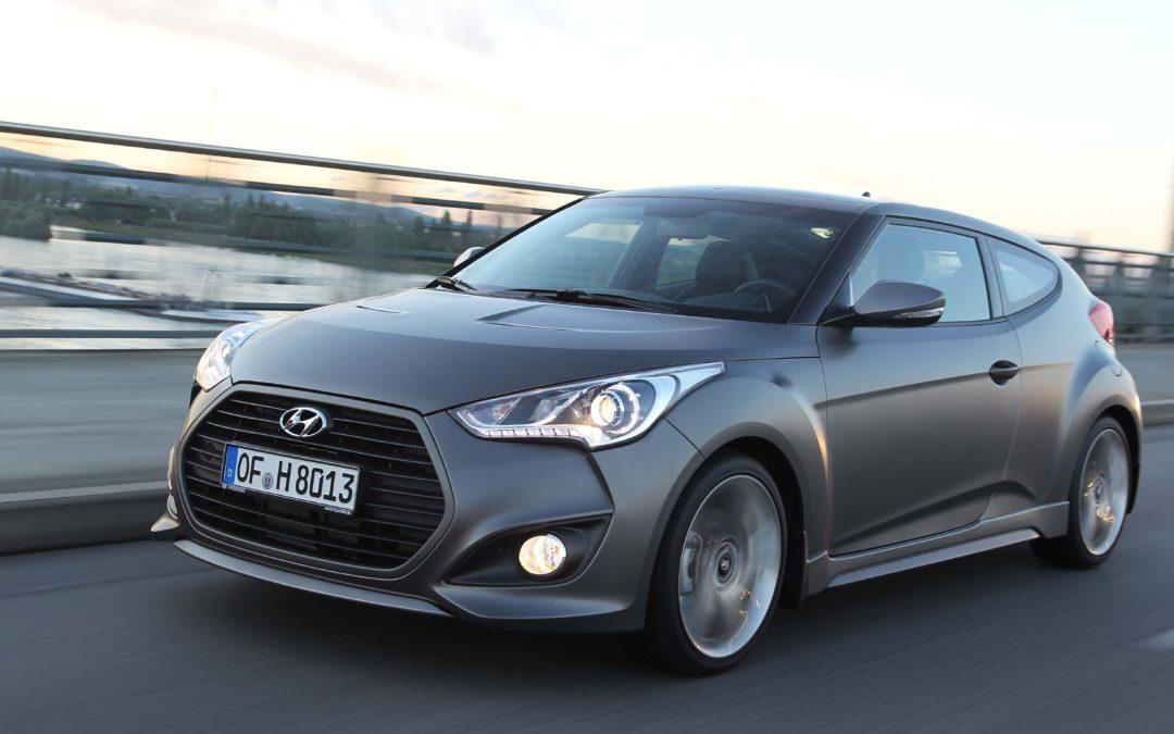Nuevo motor Turbo para el Hyundai Veloster.
