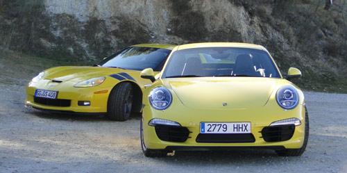 Comparativa: Porsche 911 / Chevrolet Corvette