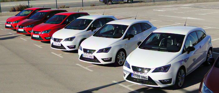 SEAT Ibiza SC CUPRA. Detalles