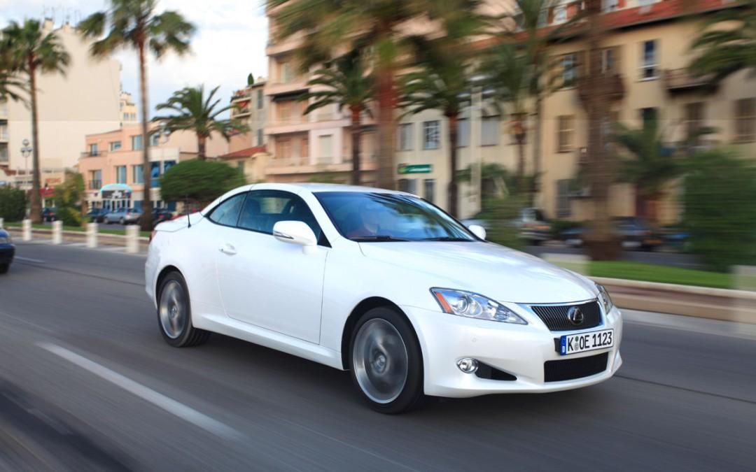 Lexus IS 250C, ya a la venta desde 54.000 €.