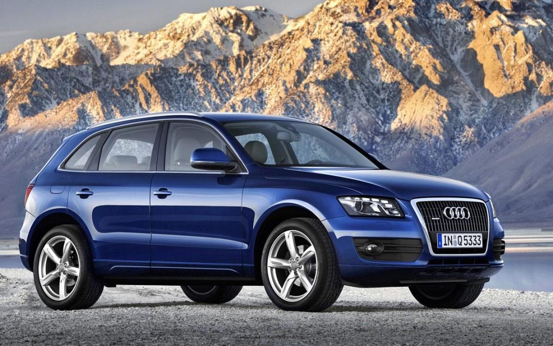 Cambio automático de 8 velocidades para el Audi Q5. Desde 35.840 Euros.