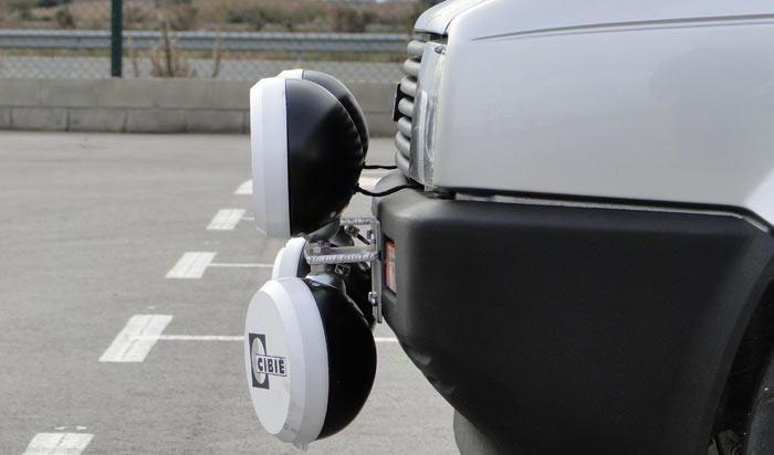 SEAT Ibiza 1.5 GLX,. Faros adicionales para carreras de regularidad