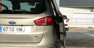 Ford B-MAX. Puertas posteriores