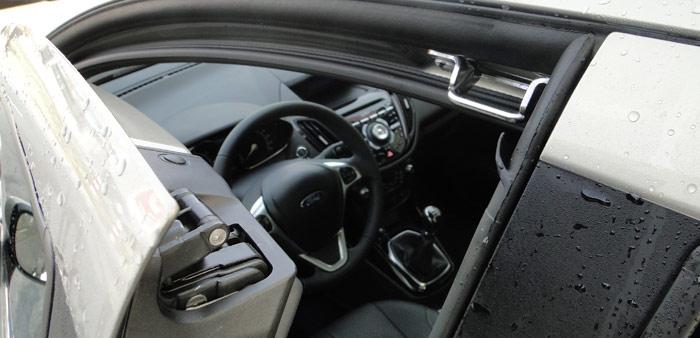 Ford B-MAX. Cierre superior puertas delanteras