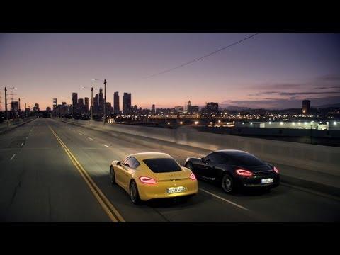 Primeras imágenes y vídeo del nuevo Porsche Cayman. Salón de los Ángeles.