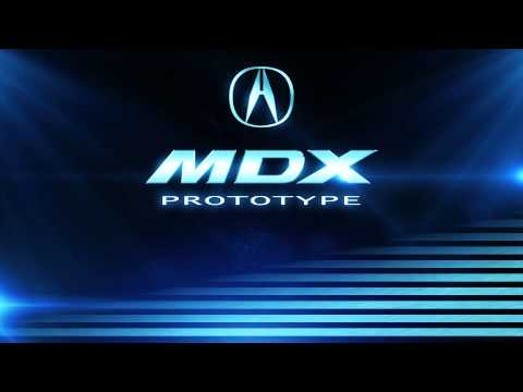 Prototipo Acura MDX. Salón de Detroit 2013