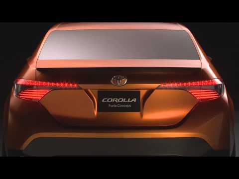Prototipo Toyota Corolla Furia Concept. Salón de Detroit 2013.