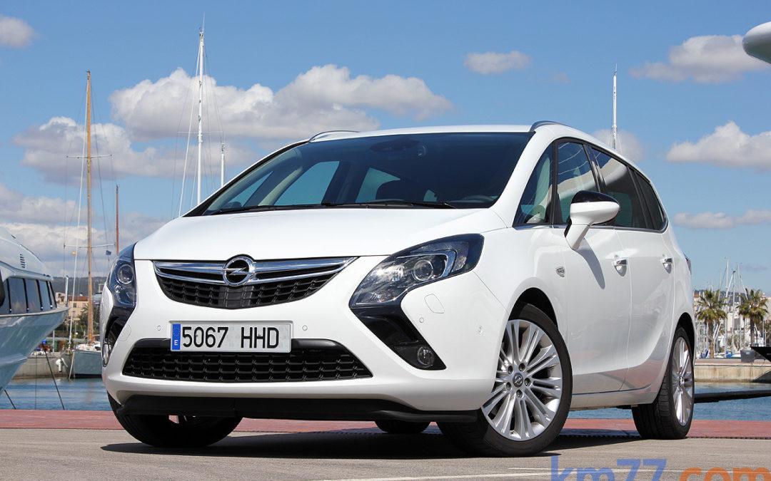 Dos nuevos motores para el Opel Zafira Tourer.
