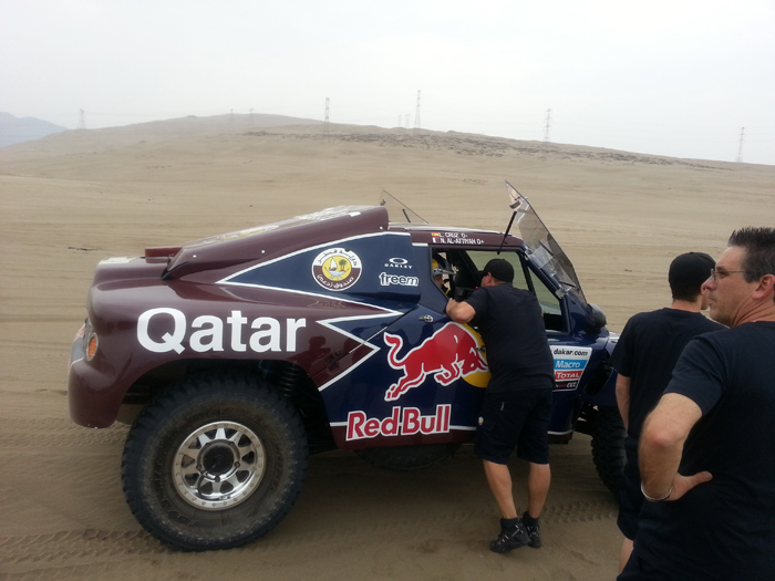 La primera sorpresa del Dakar 2013