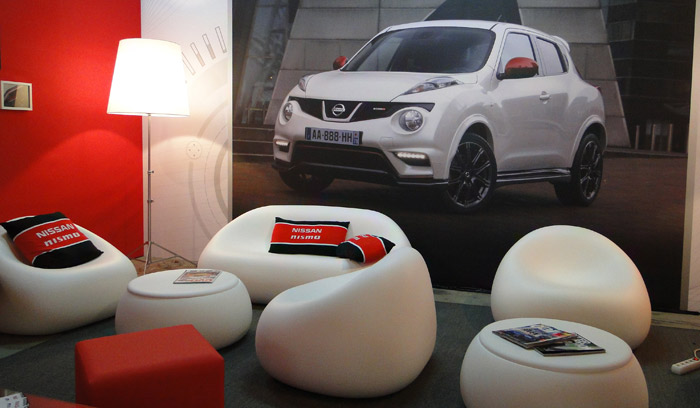 Presentación Nissan Nismo. Parque de atracciones de gasolina y carreras