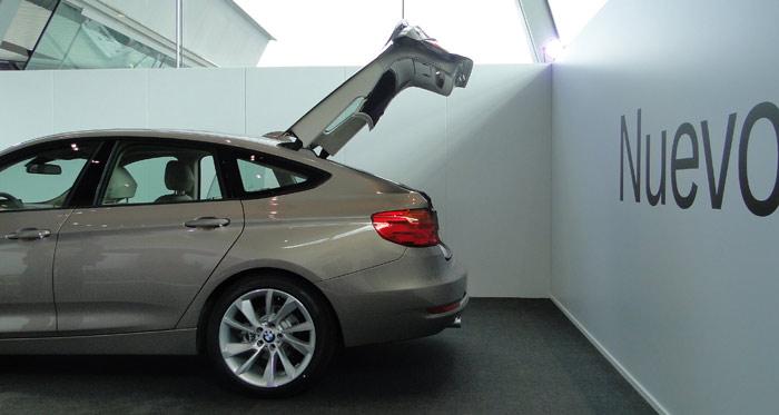 BMW Serie 3 Gran Turismo. Maletero / portón