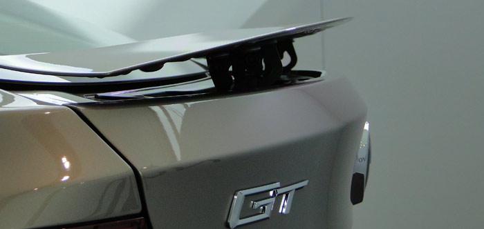 BMW Serie 3 Gran Turismo. Alerón