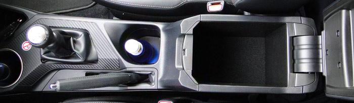 Toyota RAV4. Cajones para guardar objetos