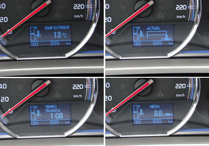 Toyota RAV4. Funciones del ordenador de viaje