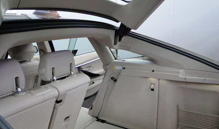 BMW Serie 3 Gran Turismo. Maletero / espacio de carga
