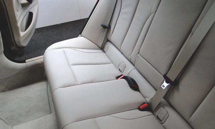BMW Serie 3 Gran Turismo. Plazas posteriores