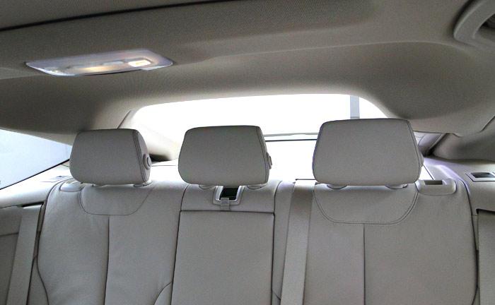 BMW Serie 3 Gran Turismo. Detalles del maletero, plazas posteriores y alguna cosa más
