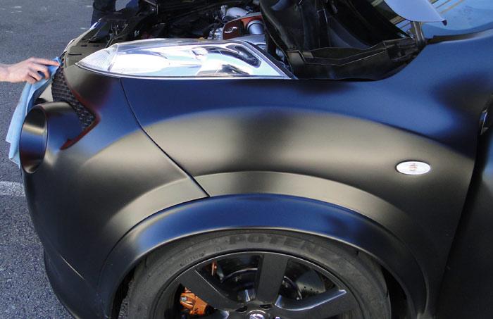 Nissan Juke R de 545 CV. Motor en posición central delantera