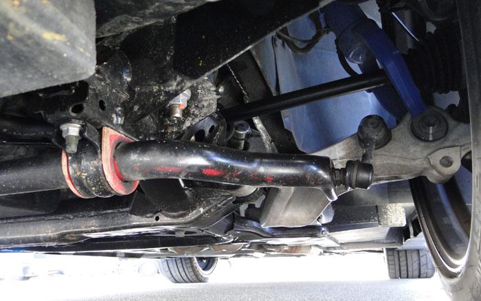 Nissan Juke R de 545 CV. Suspensión trasera
