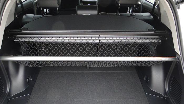Toyota RAV4. Red separadora en el maletero