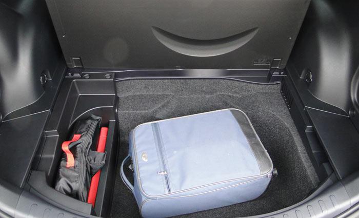 Toyota RAV4. Doble fondo del maletero