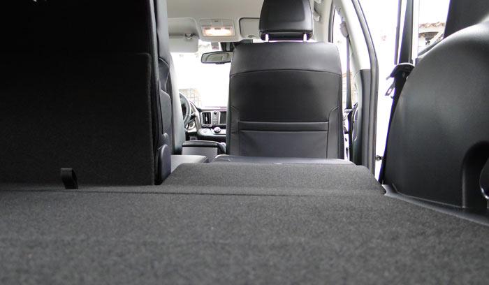 Toyota RAV4. Detalles del interior