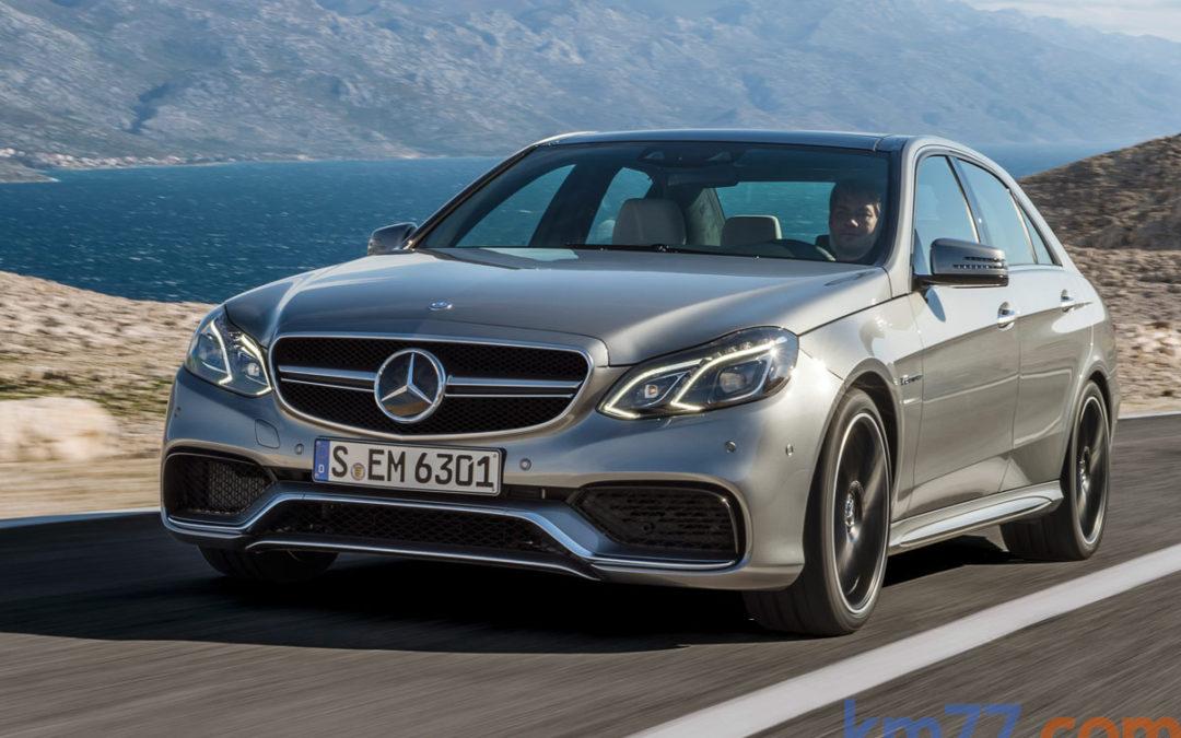 Curiosidades en la gama Mercedes-Benz Clase E