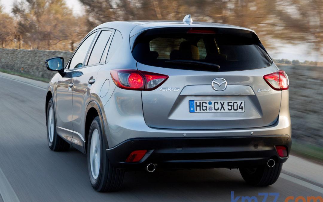 Cambios en la gama Mazda