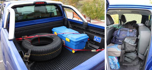 km77.com en el Eco Desafio. El Ford Ranger