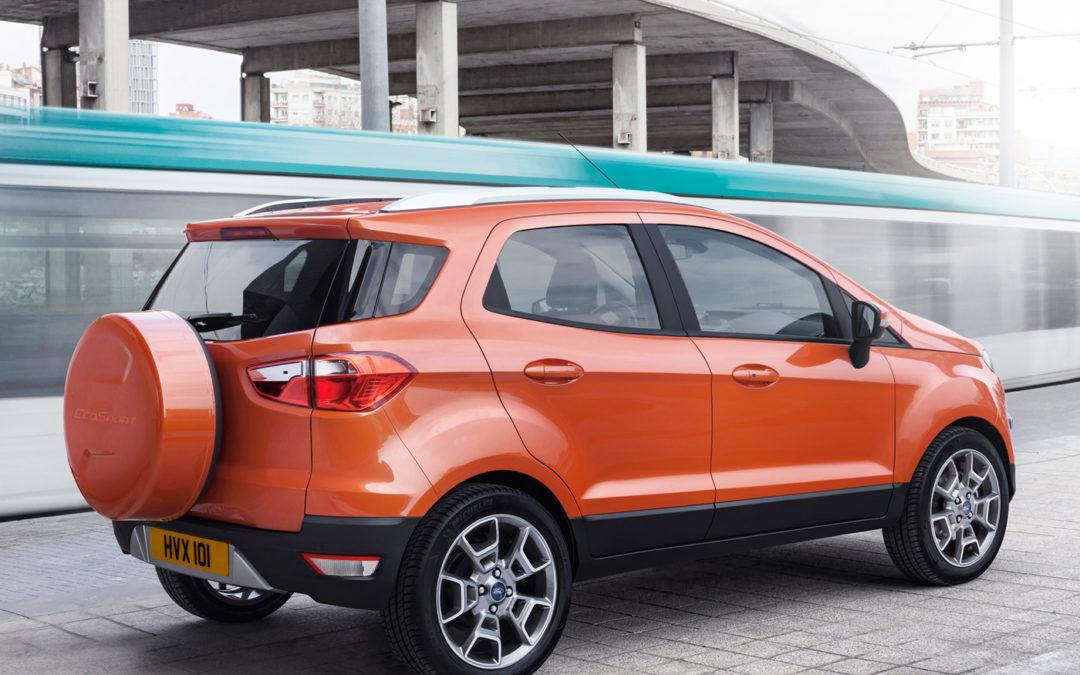 El Ford EcoSport está listo para ser presentado en Ginebra