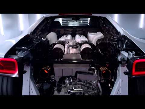 Vídeo: Audi R8 V10 Plus