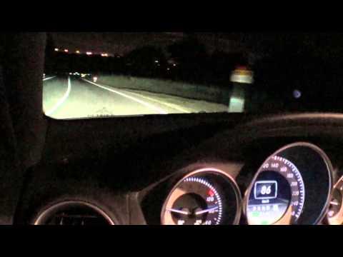 """Mercedes-Benz Clase C. Modelo 2011. Faros bixenon inteligentes """"ILS"""". Consideraciones y vídeo ilustrativo."""