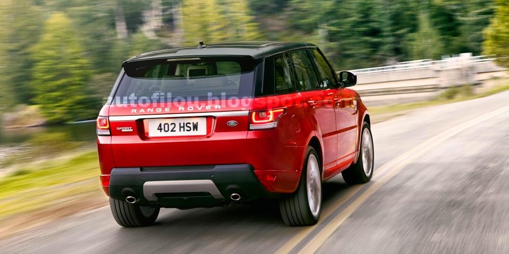 Filtradas las primeras imágenes del Range Rover Sport