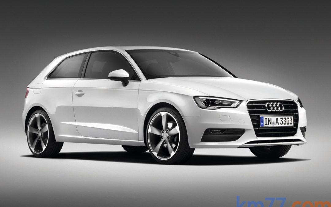 Cambios en la gama Audi A3