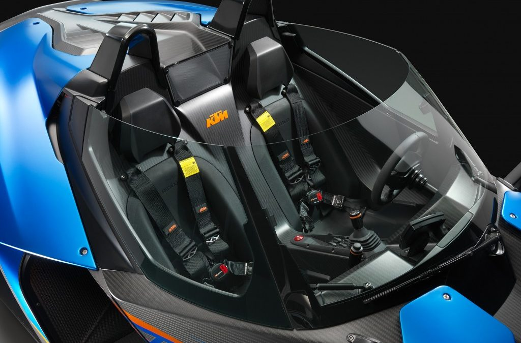 KTM X-BOW GT, ya no hace falta el casco.