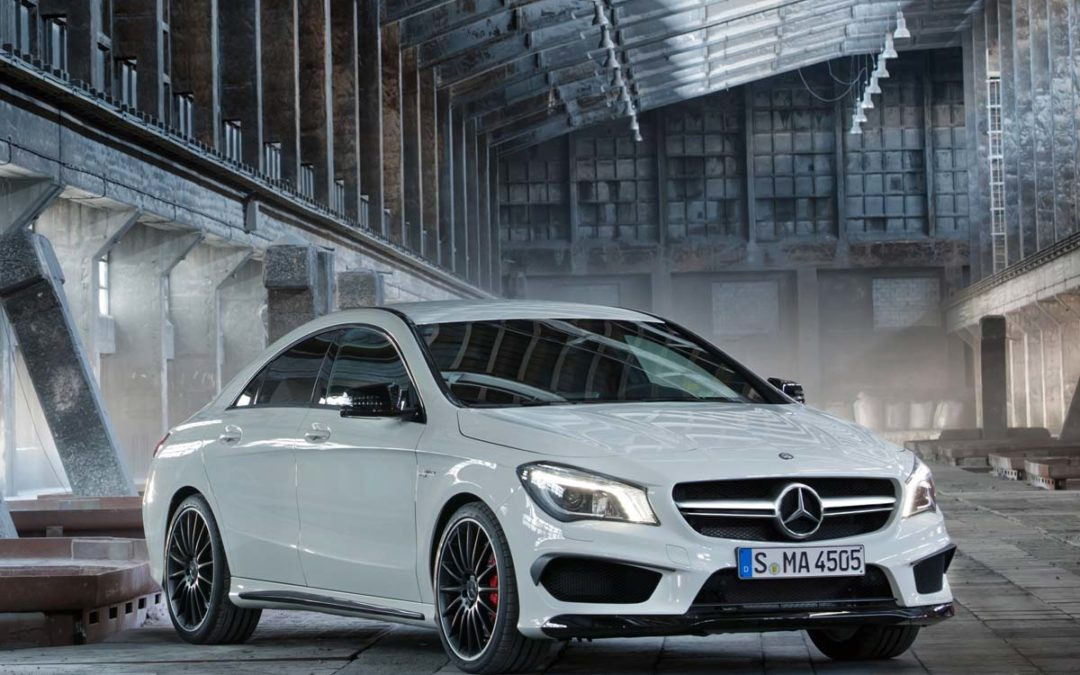 Filtradas las imágenes del Mercedes-Benz CLA 45 AMG antes de su presentación