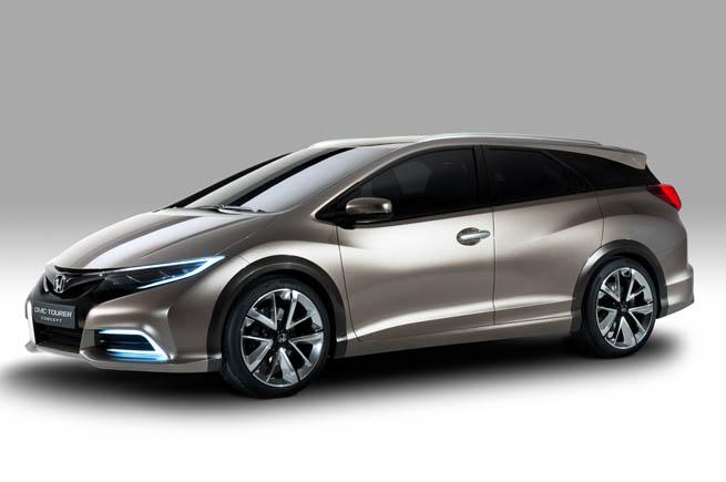 Honda presentará en Ginebra el Civic Wagon Concept. Primeras imágenes.