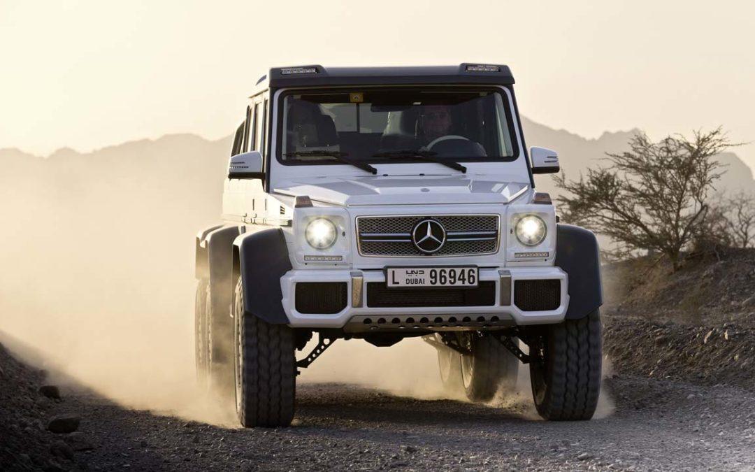 Nuevo Mercedes-Benz Clase G 63 AMG 6×6