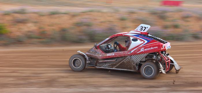 Domingo en el campeonato de España de autocross