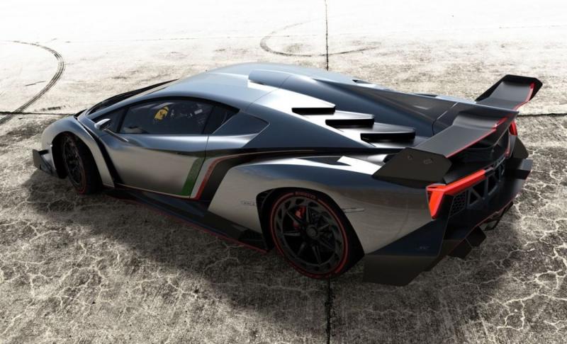 Veneno, así es la nueva joya de Lamborghini