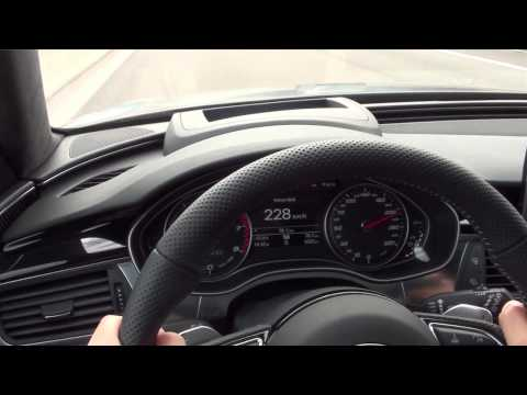 Audi RS 6 (2013). Presentación en Múnich