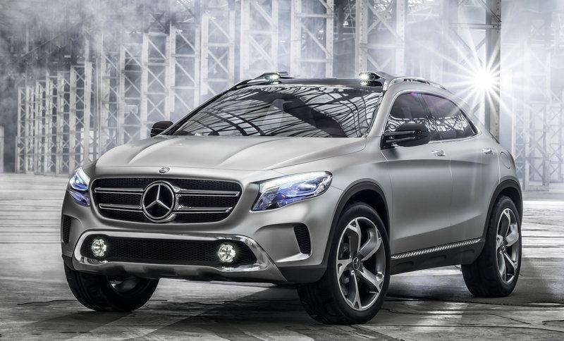 Primeras imágenes del prototipo Mercedes-Benz GLA