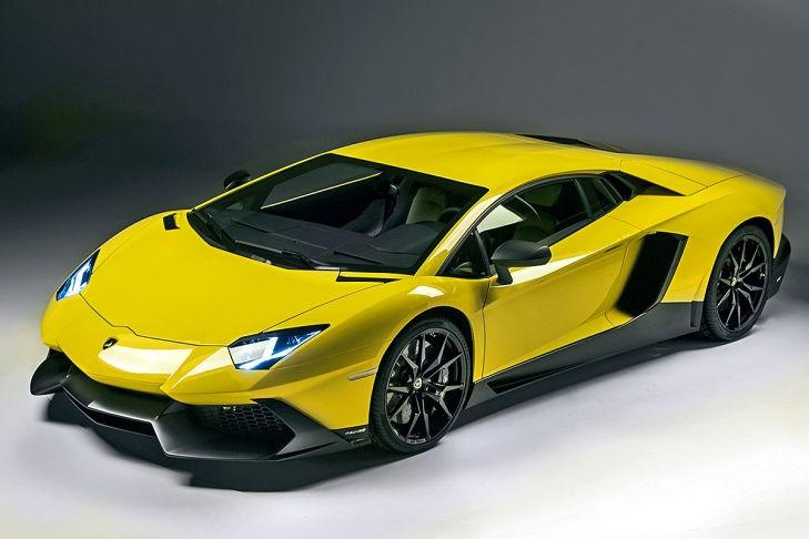 Lamborghini presenta en Shanghái el Aventador 50 Aniversario