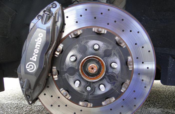 Opel Astra OPC. Disco y pinza de freno