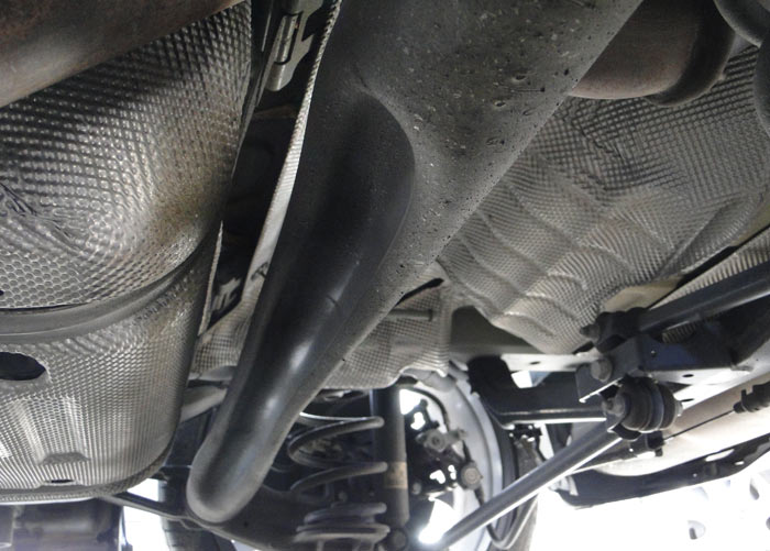 Opel Astra OPC. Suspensión posterior