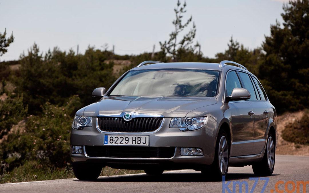 Cambios en la gama Škoda Superb