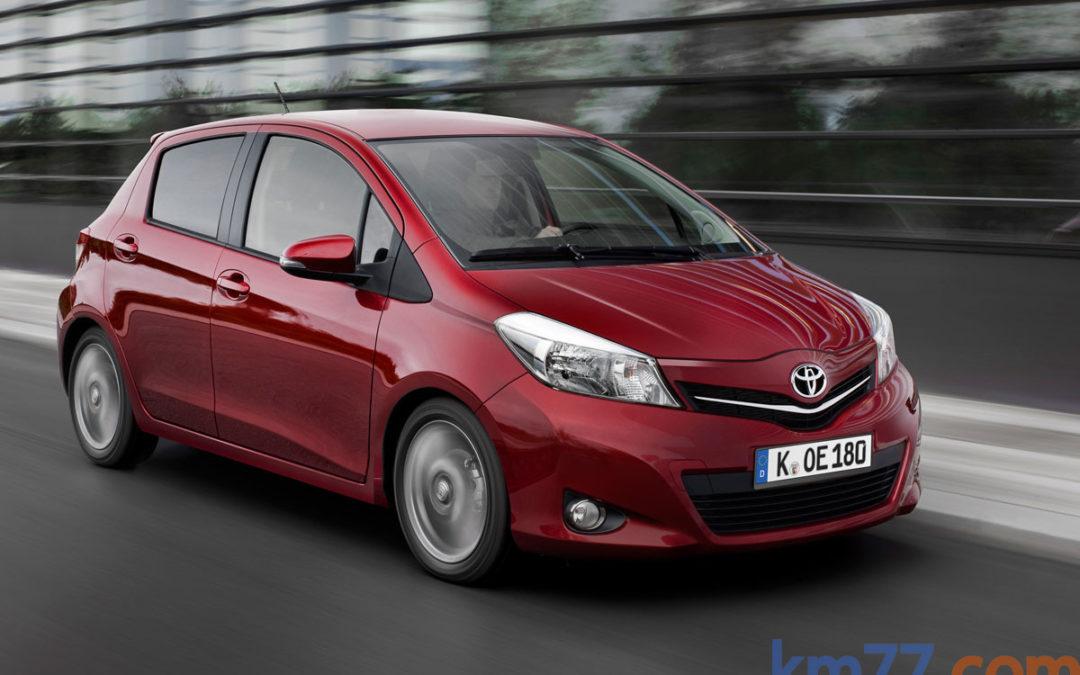 Toyota realiza cambios en la gama Yaris